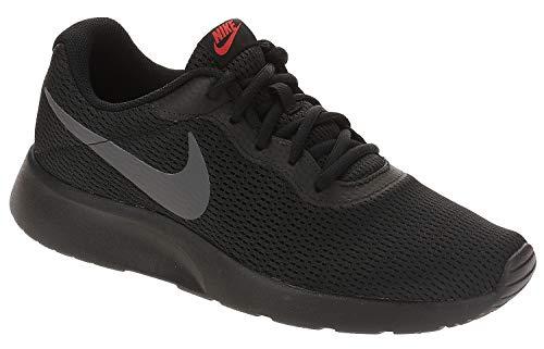 Nike Herren Tanjun Laufschuhe Mehrfarbig (Black/Dark Grey/Red Orbit/White 015) 42.5 EU