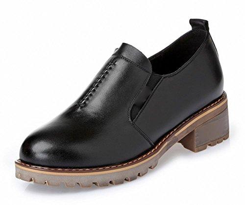 chaussures pour femmes de printemps chaussures plates chaussures pointues chaussures de sport Black