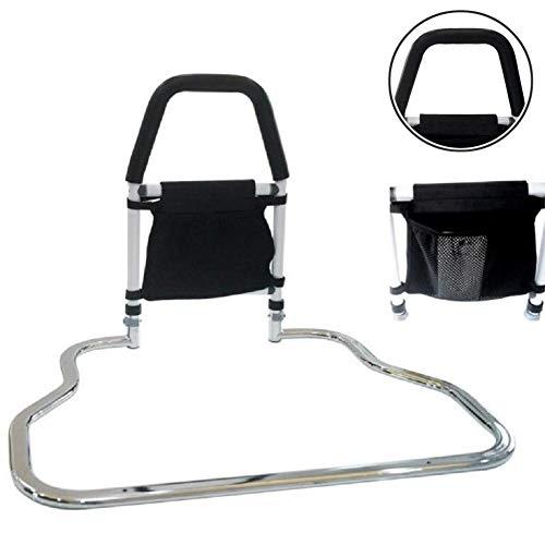 Handicap Bett Haltegriff für ältere Personen - Krankenhaus Sicherheits Bettgitter für Senioren, Bett seitlicher Handlauf, älterer Erwachsener Handlauf für King Queen Twin Size Bett - Bettgitter Queen-bett