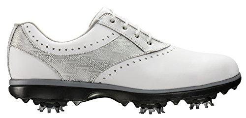 Footjoy Damen Golfschuhe weiß/silber