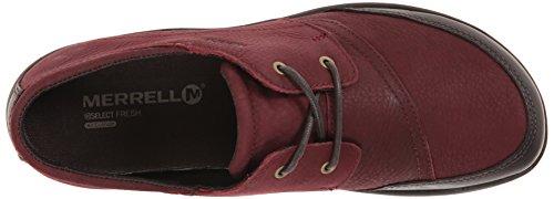 Merrell Dassie Tie scarpe Deep Red/Espresso