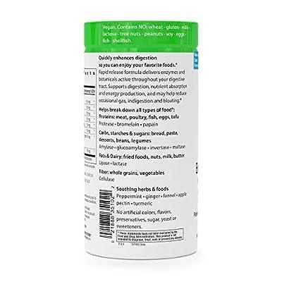 Rainbow Light Advanced Enzyme System 180 Veg. Capsules
