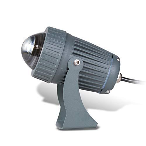 Csndice Home Strahler Mit,Long-Range Im Freien Wasserdichten Scheinwerfer Optional Sechs Arten Von Lichtquellen IP65/66 (Farbe : Red Light)
