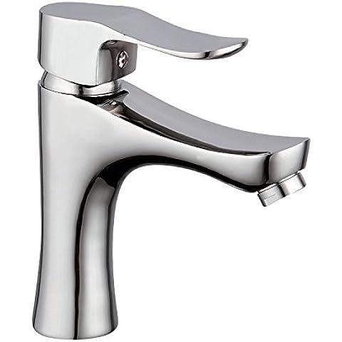 Furesnts casa moderna cucina e il lavandino del bagno rubinetti fare clic su piedistallo lavandini pollice unico foro toccare Materiali in rame di sollevamento-Miscelatore lavandino del bagno rubinetti,(Standard G 1/2 tubo flessibile universale