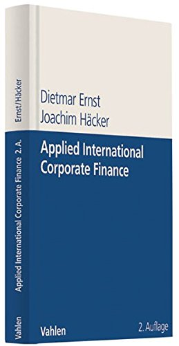 Applied International Corporate Finance