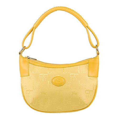 Luigi 81555, Borsa a spalla donna Giallo (giallo)