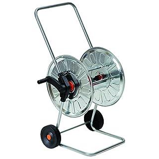 Argati 77352-10310 Steel Wheel-Mounted Reel for Watering Hose, 80m