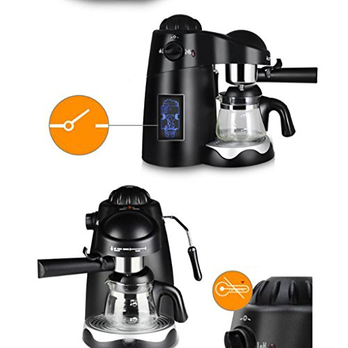 Smart Home Hot Drinks Drip Coffee Electric Machine Coffee Automatic Tea Maker 800W ( Color : 01 )