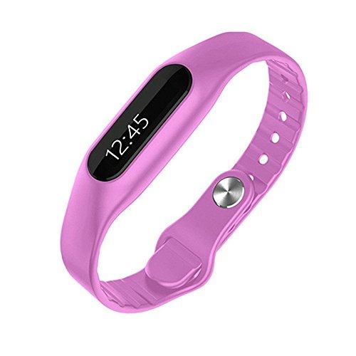 Fitnessarmband E06,Bluetooth, OLED, Telefon, Schrittzähler, Schlafphasen, Entfernung, Kalorienzähler, Tracking, Erinnerungsfunktion