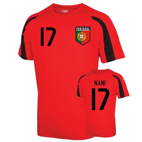 Portugal Sports Training Jersey (nani 17) - - Soccer Jersey Youth Portugal