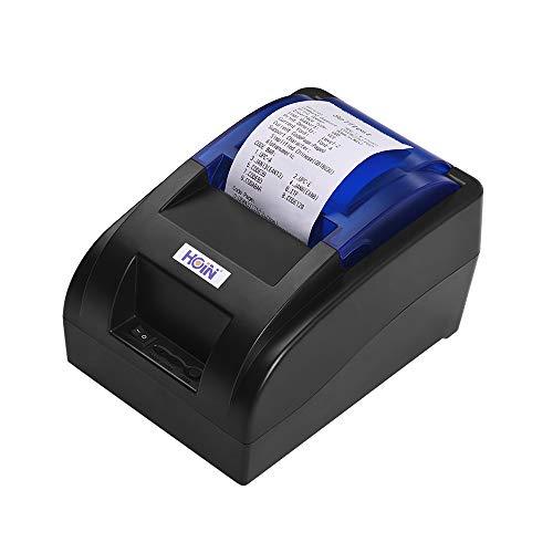 Aibecy Impresora recibos térmica portátil 58mm USB