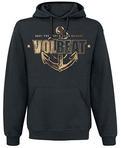 Volbeat Anchor Felpa con cappuccio nero M