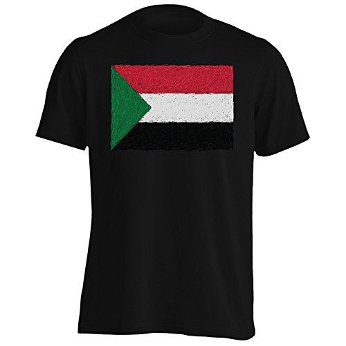 Nuova Bandiera Dell'Arte Sudana Uomo T-shirt i236m Black