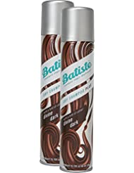 Batiste Shampooing sec ()–Shampooing sec–Color Marron foncé (2x 200ml)