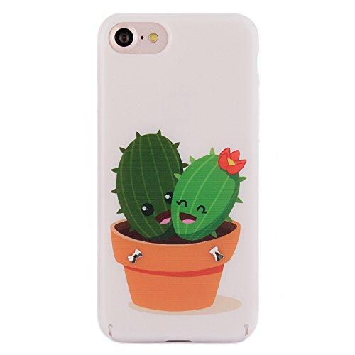 iPhone 6 6s Case, Arktis Luxus Hardcase mit Swarowski Steinen Kaktus