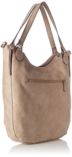s.Oliver (Bags) 39.707.94.5796, Borsa a Spalla Donna Beige (Toffee)