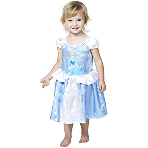 Princesas Disney - Disfraz Cenicienta, 18-24 meses, color azul (Travis Deigns DCPRCING18)
