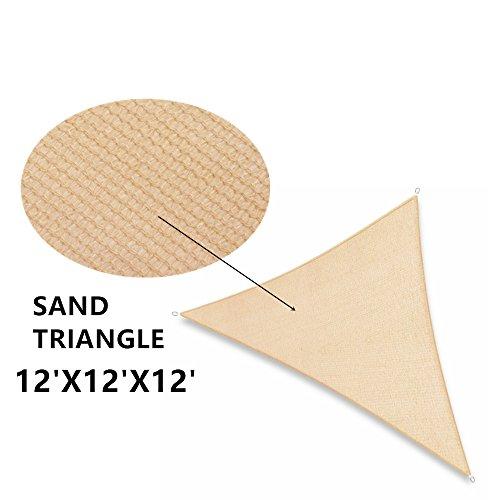 Soclear–Sand–Sonnensegel rechteckig oder dreieckig–wasserdurchlässig zu...