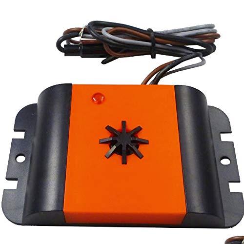 ISOTRONIC Marderscheuche Marderfix 12V Batterie Marderabwehr Marder-Frei Mobil Mäuseschreck Auto KFZ Dachboden Keller Marderfrei Marderschutz mit Ultraschall Akustik (1) -
