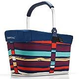 reisenthel Angebot Einkaufskorb carrybag Plus passendes Cover Sichtschutz Abdeckung (Artist Stripes)