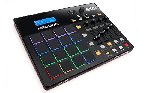 AKAI Professional MPD 226 - Controlador MIDI USB portátil con 16 pads MPC RGB