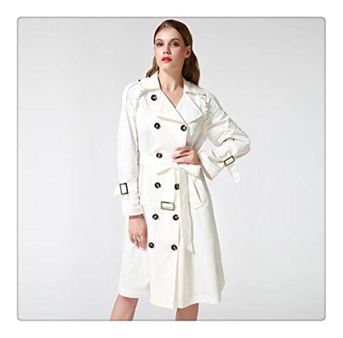 Omgaa Talever Autumn Winter Trench Coat for Women -