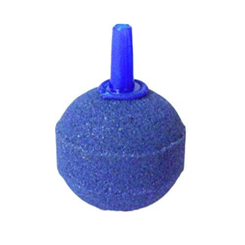 Sediment-filter Tank (Busirde Rund Ausströmerstein Blase Freigabe Ball Aquarium Aquarium Teich Blase Diffusor Aquarium-Zubehör Blau 30mm)