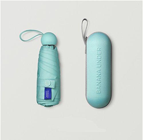 &Regenschirm Falten Mini Travel Sun Protection Regenschirme - 95% UV-resistente kompakte Regenschirme für Männer und Frauen (Farbe : #7) (Bräunung Sonne 7)