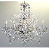 Crystal Chandelier Chandeliers Lighting Ceiling Light Lamp Hanging Fixture 230V H63.5 cm x W61.00 cm