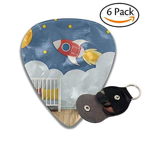 Baby Room With Cradle And Decoration On Wall D Rendering Colorful Celluloid Guitar Picks Plectrums For Guitar Bass .46mm 6 Pack