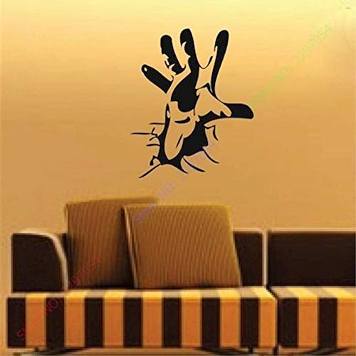 Wandtattoo Kinderzimmer Wandtattoo Wohnzimmer Happy Halloween Personalisierte Hand Coole Wohnzimmer Carving Aufkleber Für Urlaub Party Home Fenster Dekoration