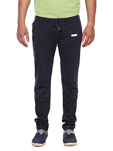 XNREPLAY Cotton Navy Plain M Size Track Pant For Men