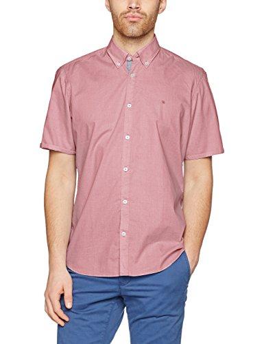 LERROS Herren Hemd, Chemises Décontractées Homme Rot (FADED CORAL 333)