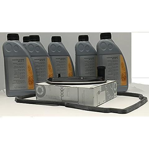 KIT CAMBIO aceite/ fluido de la transmisión automática ORIGINAL de Mercedes Benz ATF 134 6L MB236.14 +