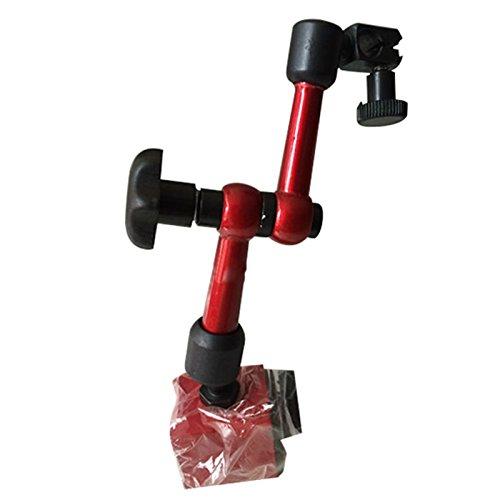 Semoic Universal Miniatur Tisch Sitz Magnettisch Mechanischer Hebel Messuhr Halter Leverage Messuhr Block Magnetisch