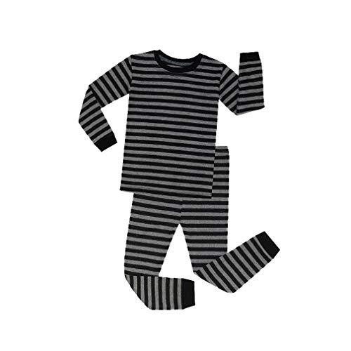 Mxssi new ragazzi ragazze pigiama righe cotone maniche lunghe set pigiama bambini 1 a 8 anni pigiama natale pigiama cotone