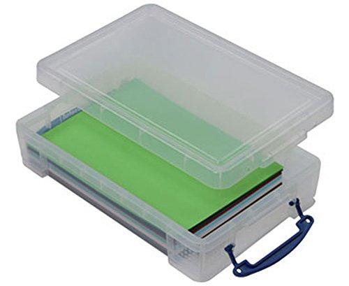 Betzold Aufbewahrungsbox, 4 Liter, für Papier bis A4 Format - Papierbox Aufbewahrung Ordnung Schule Unterricht Kindergarten Büro Büroausstattung Ausstattung Schreibtisch Schreibtischzubehör (Kindergarten-container)