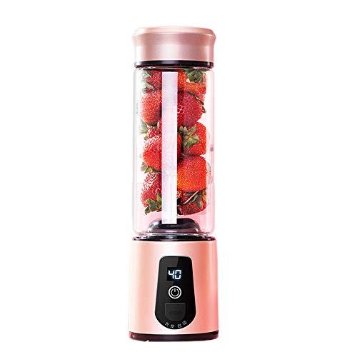 Rosepoem USB wiederaufladbare Saftschale,Mini 6 Blade Obst Mixer Food Chopper Knoblauch Mixer für zu Hause/ausgehende