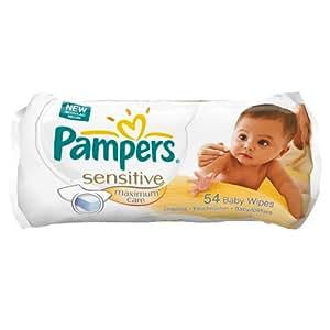 Pampers Feuchte Tücher Sensitive Maximum Care, 648 Tücher