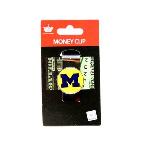 aminco NCAA Michigan Wolverines Kuppel Geld Clip