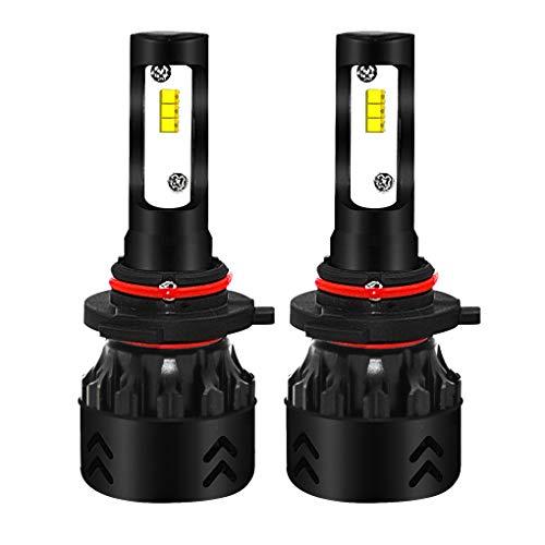 Busirde 1 Paio 9005 80W 9600LM 6000K ad Alta Potenza Luminosa Eccellente dell'automobile LED Faro Auto della Nebbia lampadine Guida Testa Bulb