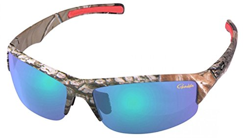 Gamakatsu G-Glasses WILD Polbrille Deep Amber Green Mirror