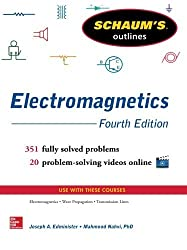 Schaum's Outline of Electromagnetics, 4th Edition (Schaum's Outline Series) by Joseph Edminister (2014-01-01)