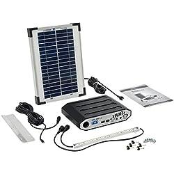 SolarMate smh001Solar Hub 16iluminación y Kit de alimentación–Azul