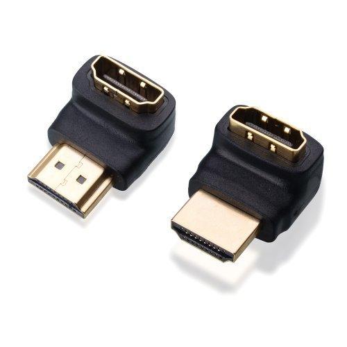 Cable Matters® Combo, 270 Grad und 90 Grad HDMI männlich zu weiblich Adapter Weiblich 90-grad-adapter