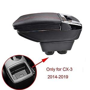 Auto Zentrale Armlehne Für CX-3 CX3 Armlehne Box Lagerung Box tasse halter aschenbecher zubehör