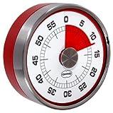 Retro Eieruhr / Küchentimer TACHOMETER red