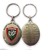 RCT- Porte Clef Metal Parole Pilou-Pilou - Rugby Club TOULONNAIS - Licence Officielle
