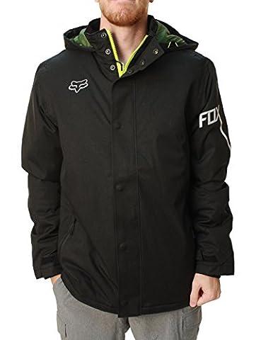 Fox Racing Enhance Jacket Small Heather Black