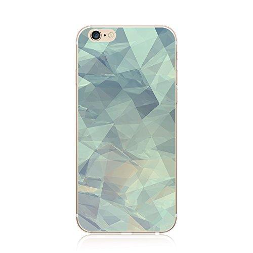 Coque iPhone 7 Housse étui-Case Transparent Liquid Crystal marbre en TPU Silicone Clair,Protection Ultra Mince Premium,Coque Prime pour iPhone 7 (2016)-style 13 iphone7-14